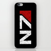 n7 iPhone & iPod Skins featuring N7 by adho1982