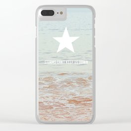 Lone Star Storm Clear iPhone Case