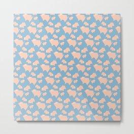 Paper Pigs (Patterns Please Series #3) Metal Print
