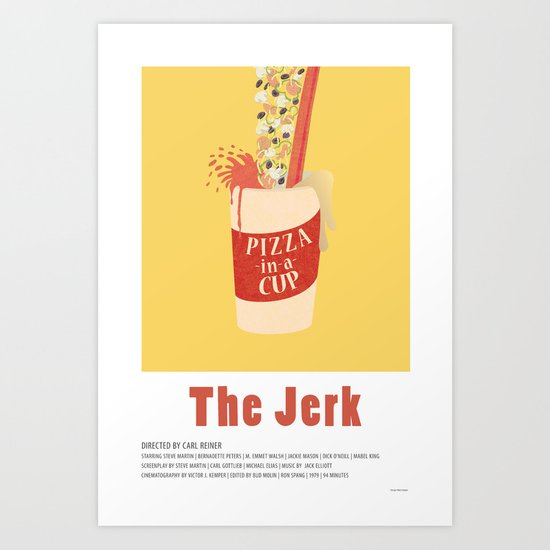 The Jerk (1979) Art Print