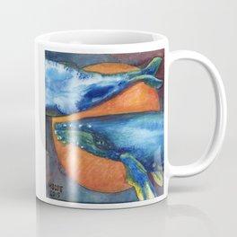 Humpbacks Orbiting Mars Coffee Mug