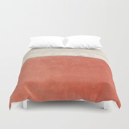 Abstract Street Wall Duvet Cover