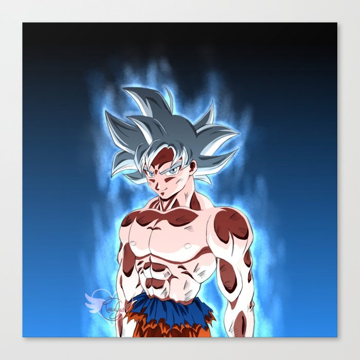 Ultra instinct Canvas Print