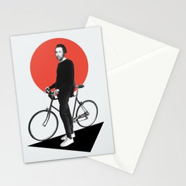 The wheel is come full circle. I am here Stationery Cards