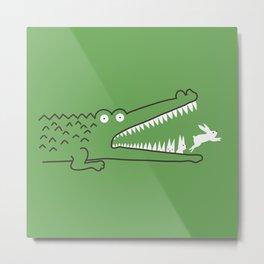 Mr. Croc's Nightmare Metal Print
