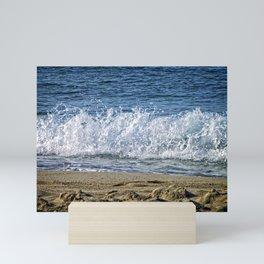 Frothy Surf Mini Art Print
