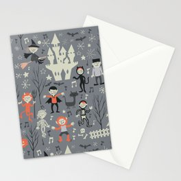 Love shack monsters halloween party Stationery Cards