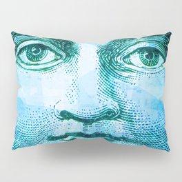 Vintage Moon Face Pillow Sham