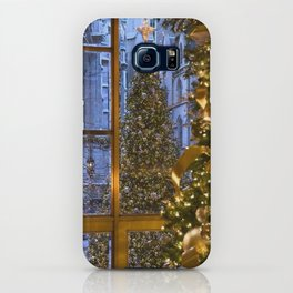 Beautifu christmas tree iPhone Case