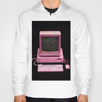 gaming Hoodies featuring Retro Gaming by Cullen Rawlins