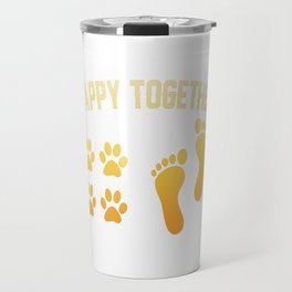Happy together Travel Mug