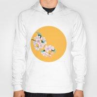 sakura Hoodies featuring Sakura by Priscilla Moore