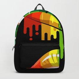 LGBT Rainbow Kissing Mouth Gay Lesbian Backpack