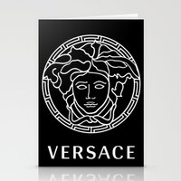 versace Stationery Cards featuring versace by  Can Encin
