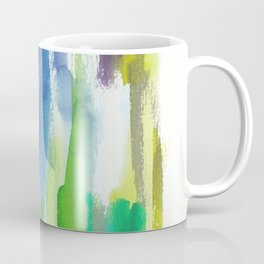 180812 Abstract Watercolour Expressionism 4 | Colorful Abstract | Modern Watercolor Art Coffee Mug