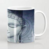 buddah Mugs featuring BUDDAH by I Love Decor