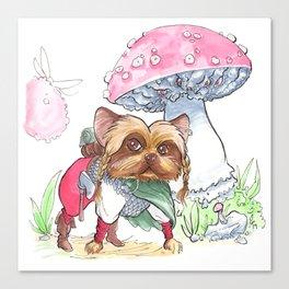 DogDays19 Bella Canvas Print