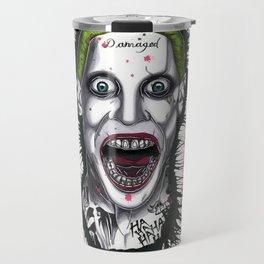 The Horror of The Joker Travel Mug