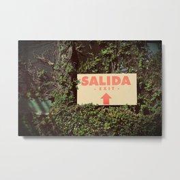 Salida Metal Print