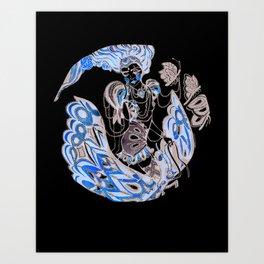 Harlequin Series 3 Art Print