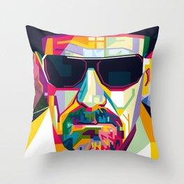 Pop Art London Vector Artist CONQR Ultimate Gangster Throw Pillow