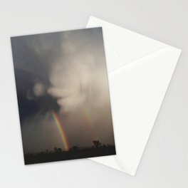 Fist Cloud Rainbows Stationery Cards