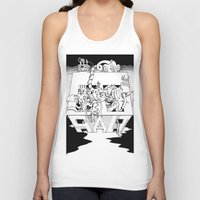 salt water Tank Tops featuring Salt by Joshua Flinn