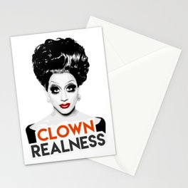 """Clown Realness"" Bianca Del Rio, RuPaul's Drag Race Queen Stationery Cards"