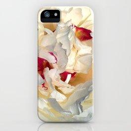 Peony Petals iPhone Case