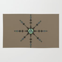 Native American Mandala Rug