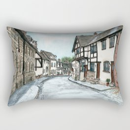 Mill Street North, Warwick U.K. Rectangular Pillow