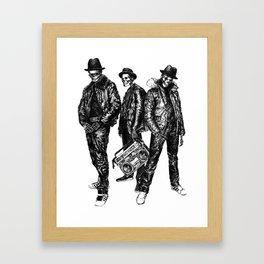 the Legend of Hip Hop Framed Art Print