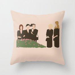 Steel Magnolias Throw Pillow