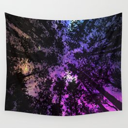 Pretty Lights Forest Escape Wall Tapestry