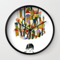 read a city Wall Clock