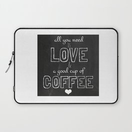 Love and coffee Laptop Sleeve