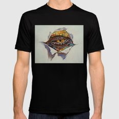 Dragon Eye MEDIUM Black Mens Fitted Tee
