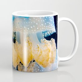 Double Blue Jellyfish - Underwater Photography Coffee Mug
