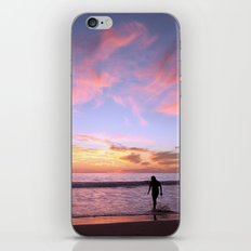 Pink Horizon iPhone & iPod Skin