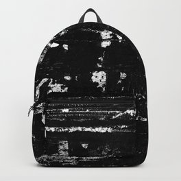 Distressed Grunge 102 in B&W Backpack