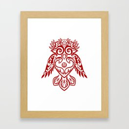 Forest Owl Framed Art Print
