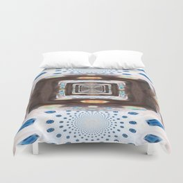 Tunnel of Mirrors Duvet Cover