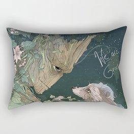 We Are Grt Rectangular Pillow