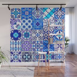 Moroccan Tile islamic pattern Wall Mural