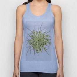 Queen Ann's Lace Flower Unisex Tank Top