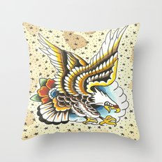 Traditional Eagle  Throw Pillow