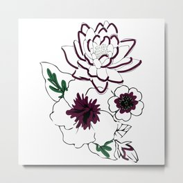 Say it with flowers Metal Print