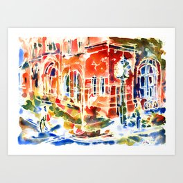 Charlottetown Art Print