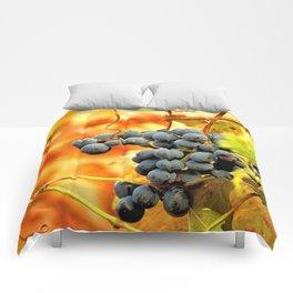 Grape Vines in Autumn Comforters