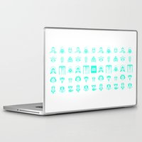 starwars Laptop & iPad Skins featuring StarWars icon by SUSANNA CONTOLI